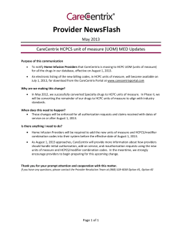 Provider NewsFlash
