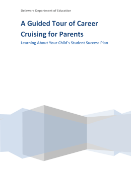A Guided Tour of Career Cruising for Parents