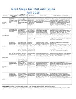 Next steps for csu admission Chart.xlsx