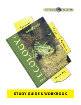 The Ecology Book study guide