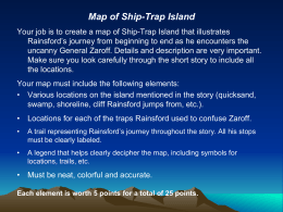Map of Ship-Trap Island