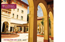 paying for usc 2016 - 2017 - Financial Services
