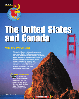 Chapter 5: The Physical Geography of the United States and Canada