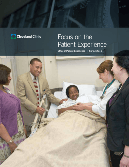 Focus on the Patient Experience