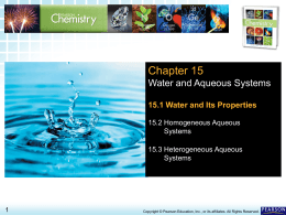 15.1 Water and Its Properties > Chapter 15