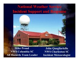 Who is the NWS?