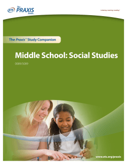 Middle School: Social Studies