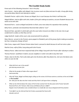 act 4 study guide crucible questions Arthur miller the crucible act iii study guide p 1068 what read online arthur miller the crucible act iii study guide p 1068 what now avalaible in our site.