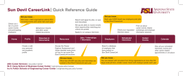 Sun Devil CareerLink Quick Reference Guide