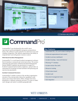 CommandPro ® Technology PDF