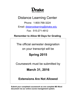Distance Learning Center - Video Courses For Teachers