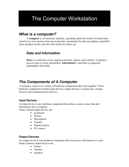 handout - Mrs. Williams` Courses