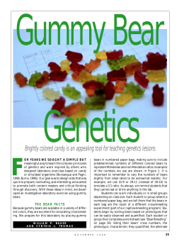 Gummy Bear Genetics