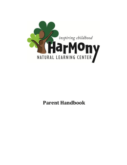 File - Harmony Natural Learning Center
