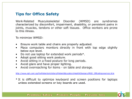 Tips for Office Safety 1