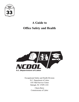 A Guide to Office Safety and Health