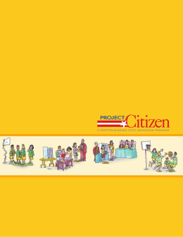Project Citizen Brochure