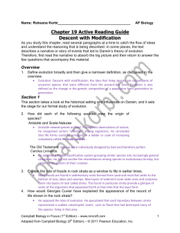 Chapter 19 Active Reading Guide Descent with Modification
