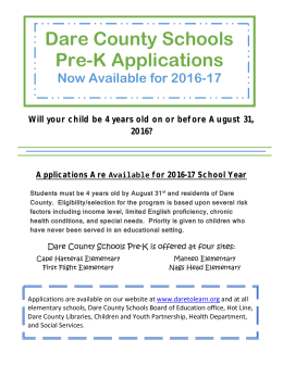 English NC PreK Flyer 16-17