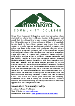 Profile - Green River CC