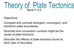 Compare and contrast divergent, convergent, and transform plate