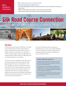 Silk Road Course Connection