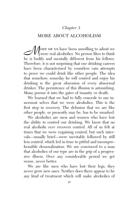 More About Alcoholism - Alcoholics Anonymous