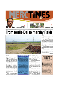 MERC Times Issue Dated 30-05-2011