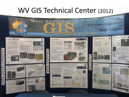 Power Point  - West Virginia GIS Technical Center