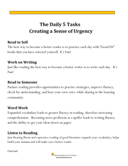 The Daily 5 Tasks.docx