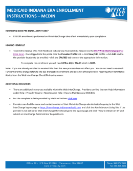 medicaid indiana era enrollment instructions – mcdin