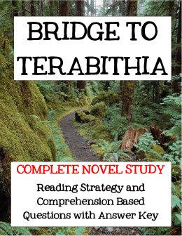 BRIDGE TO TERABITHIA TERABITHIA