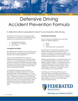 Defensive Driving - Federated Insurance