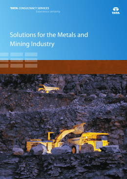 Solutions for the Metals and Mining Industry_Brochure_A4_090412