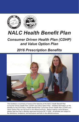 NALC Health Benefit Plan - National Association of Letter Carriers