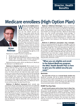 NALC Director, Health Benefit Plan: Medicare enrollees (High