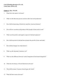 Unit III Reading Questions (Ch. 6