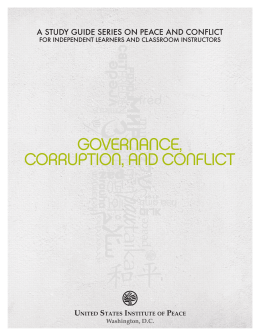 Governance, Corruption, and Conflict (2010)
