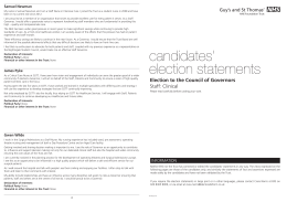 candidates` election statements