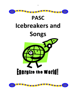Icebreakers and Songs