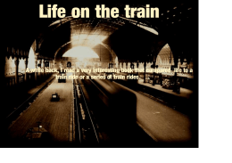 Life on the train - Peter J Jackson, Funeral Directors