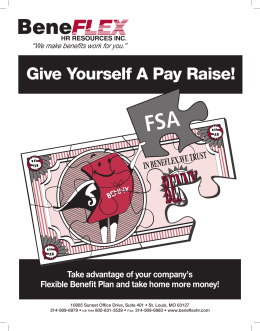 Give Yourself A Pay Raise!