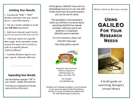 GALILEO - Middle Georgia Regional Library