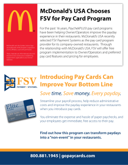 Introducing Pay Cards Can Improve Your Bottom Line