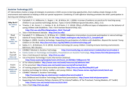 Assistive Technology resources-final
