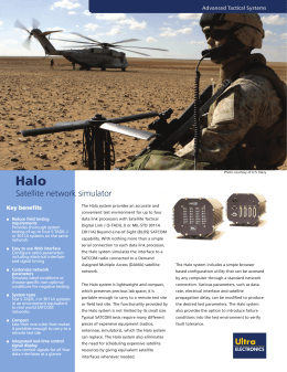 Halo - Ultra Electronics Advanced Tactical Systems