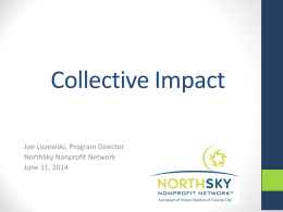 Collective Impact - Networks Northwest
