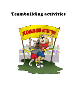 Teambuilding activities