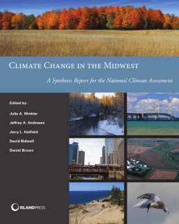 Climate Change in the Midwest - Climate Adaptation Knowledge