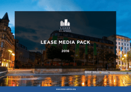 LEASE MEDIA PACK - The Leasehold Advisory Service